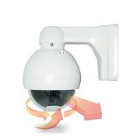 Caméra couleur PTZ pilotable 960H zoom 5~60mm 12X waterproof