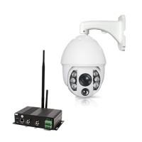 Kit Serveur vidéosurveillance WiFi 3G avec caméra pilotable autotracking