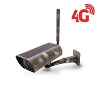 Caméra camouflage solaire IP GSM 4G HD 1080P 64 Go inclus waterproof Infrarouge accès à distance via iPhone Android et PC