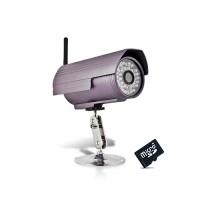 Caméra IP WiFi extérieure HD 720P détection de mouvement 16Go