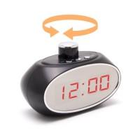Horloge caméra cachée pilotable à 330° IP WiFi P2P autonome enregistrement HD 1080P avec 64 Go