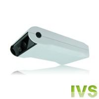 Caméra IVS alarme CCD 480 lignes à détection humaine et infrarouge avec notification push sur Iphone