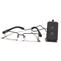 Kit complet caméra lunettes avec micro enregistreur audio vidéo