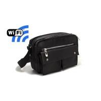 Sac pochette caméra cachée Wi-Fi FHD 1080P avec micro enregistreur