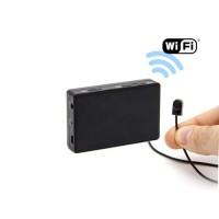 Kit micro caméra avec micro enregistreur IP WiFi sur carte microSD