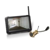 Kit caméra judas sans fil avec récepteur LCD couleur 5 pouces