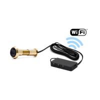 Caméra judas WiFi avec accès à distance enregistrement à la détection de mouvement sur carte microSD