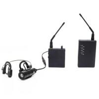 Kit micro caméra tactique 550 lignes avec émetteur autonome et récepteur sans fil 2.4 Ghz