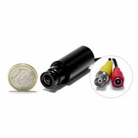 Micro caméra tube CCD NB 600 lignes avec micro objectif