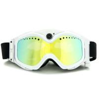 Masque de ski caméra HD 720P 16Go blanc