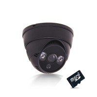 Caméra dôme enregistreur de vidéosurveillance Infrarouge HD 720P