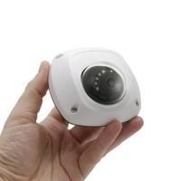 Mini caméra IP intelligente dôme Ultra HD 5 Mpx waterproof avec vision nocturne et enregistrement sur microSDHC