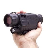 Lunette de vision nocturne monoculaire avec enregistrement vidéo & photo HD