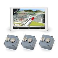 Kit de géolocalisation en temps réel tablette tactile 10.1 et 3 balises GPS
