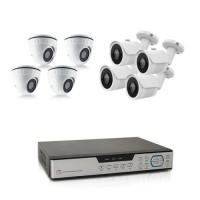 Kit videosurveillance 8 cameras AHD 1080P avec enregistreur 8 voies HDD 1 To inclus