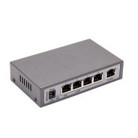 Switch PoE 4 ports IEEE 802.3af at