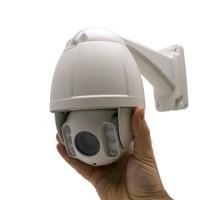 Caméra PTZ pilotable 960H extérieure IP66 zoom optique 10x objectif 5-50 mm