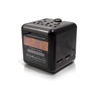 Radio réveil caméra IP WiFi infrarouge invisible avec détection de mouvement