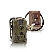 Kit caméra 12M autonome waterproof IR invisible et anti-vandalisme (BOX OFFERTE)