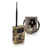 Caméra de chasse autonome 3G HD 720P 8MP avec IR invisible, cryptage 256 bits et box anti-vandale