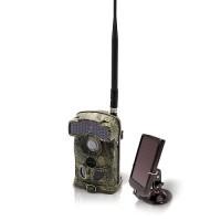 Caméra de chasse alerte HD 1080P 3G envoi MMS / e-mail vidéo IR invisible avec batterie solaire