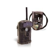 Dernière génération - Caméra de chasse alerte HD 1080P GSM envoi MMS e-mail IR invisible avec box anti-vandale