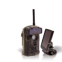 Dernière génération - Caméra de chasse alerte HD 1080P GSM envoi MMS e-mail IR invisible avec batterie solaire