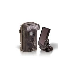 Dernière génération - Caméra de chasse autonome HD 1080P IR avec batterie solaire