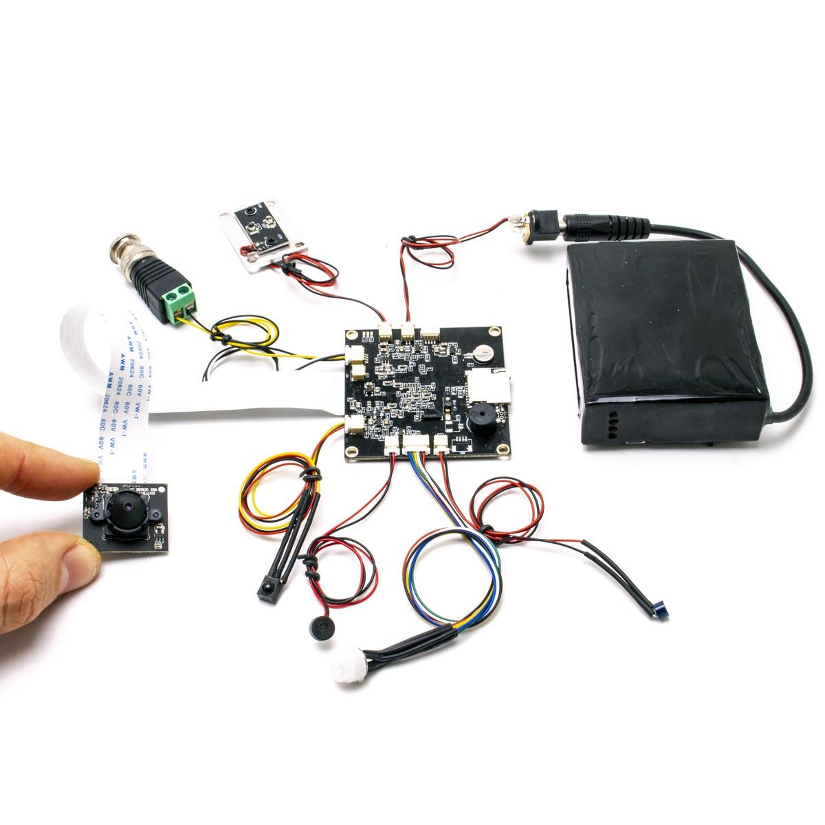 Module à intégrer avec micro caméra 5 Mpx et enregistrement UHD 4K