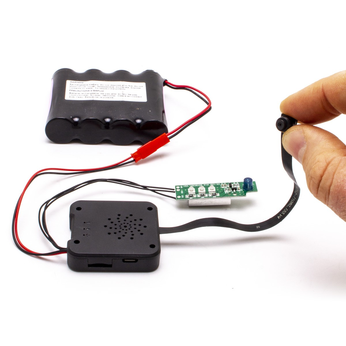 Module micro caméra IP WiFi HD longue autonomie avec vision nocturne et enregistreur à intégrer