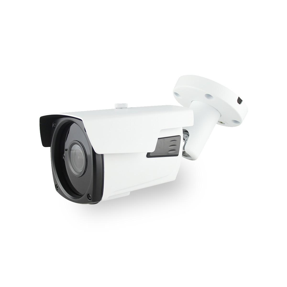 Caméra IP POE capteur 5 Mégapixels objectif varifocal 2.8-12 mm Infrarouge 60 mètres extérieur intérieure