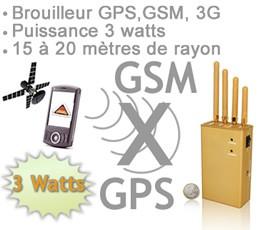 Brouilleur GSM GPS