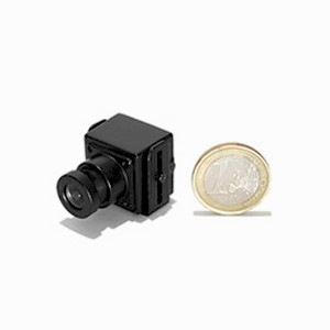 Micro camera CCD couleur 420 lignes et micro objectif