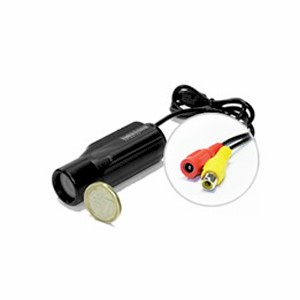 Caméra paluche waterproof CCD filaire Noir et Blanc 600 lignes