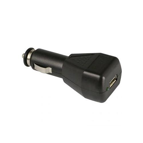 Chargeur allume-cigare 12 24V 5V 1A USB compatible iPhone et Android