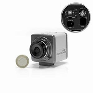 Mini camera ex-view CCD noir et blanc 600 lignes