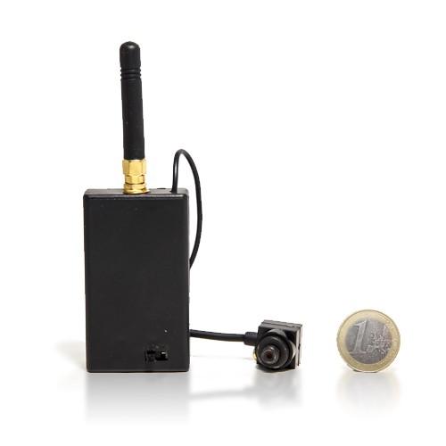 Micro caméra HD avec émetteur sans fil 2.4 GHz