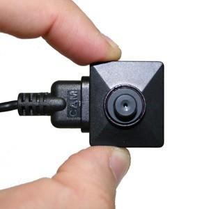 Caméra 800 lignes couleur HD filaire par mini HDMI type bouton et vis