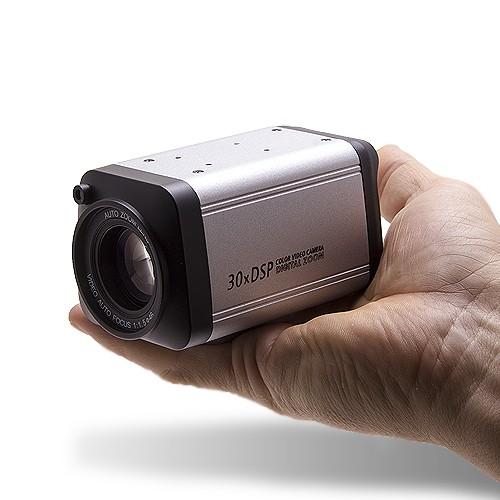 Caméra couleur CCD 700 lignes zoom 30x