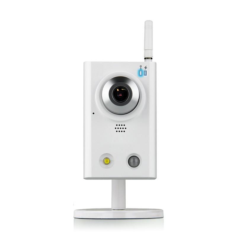 Caméra IP sans-fil WiFi haute définition avec notification push en cas de détection