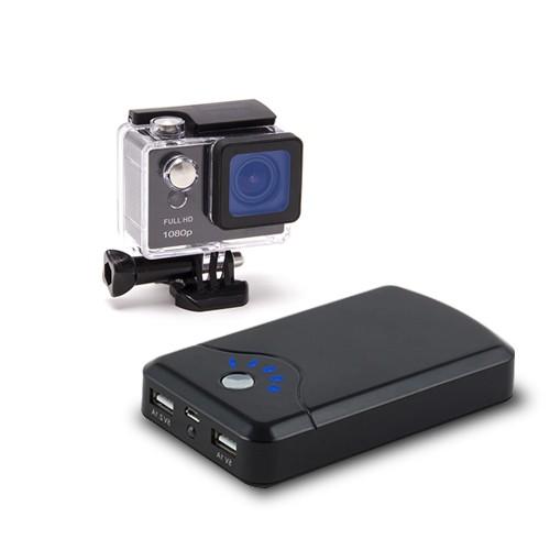 Kit micro caméra HD 1080P WiFi avec écran LCD et batterie longue autonomie 16 Go