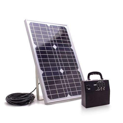 Batterie et panneau solaire