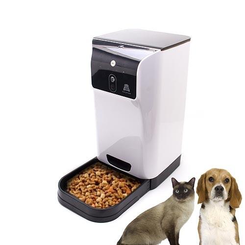 Distributeur automatique de nourriture pour animaux avec caméra WiFi