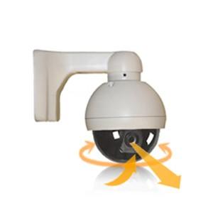 Caméra PTZ dôme couleur multi directionnel pilotable CCD Sony 540 Lignes waterproof