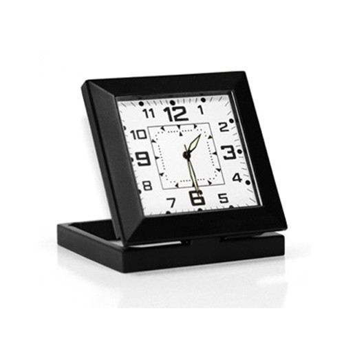Horloge de bureau avec caméra autonome discrète HD 960P audio vidéo
