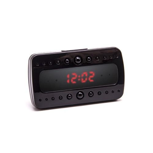 Caméra cachée horloge de bureau avec détection de mouvement