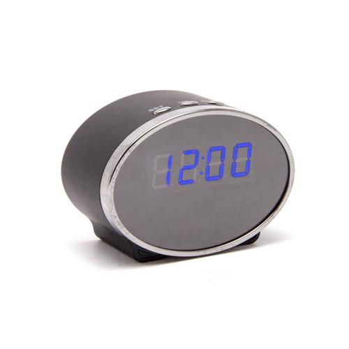 Caméra horloge ovale HD 1080P, vision nocturne et carte 16Go