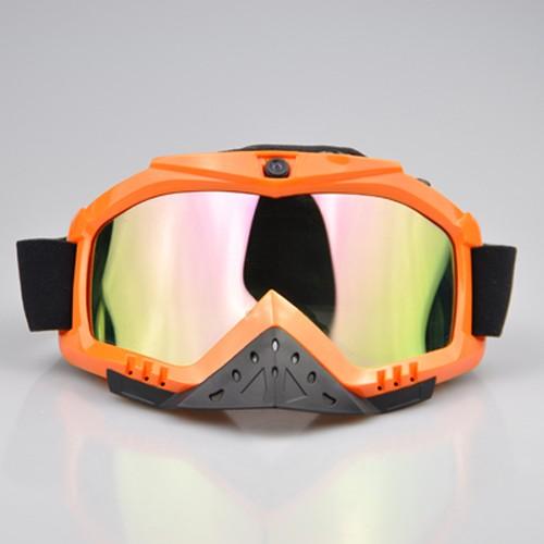 Masque de ski camera