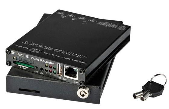 Enregistreur 1080P 4 voies 4G WiFi et GPS pour véhicule