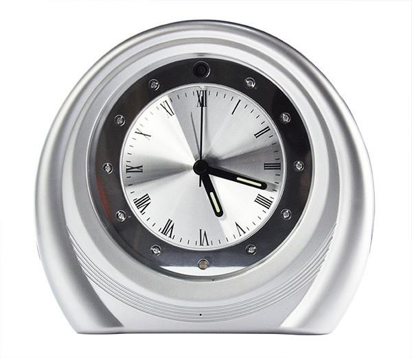 Caméra horloge de bureau infrarouge HD 720P IP / WIFI